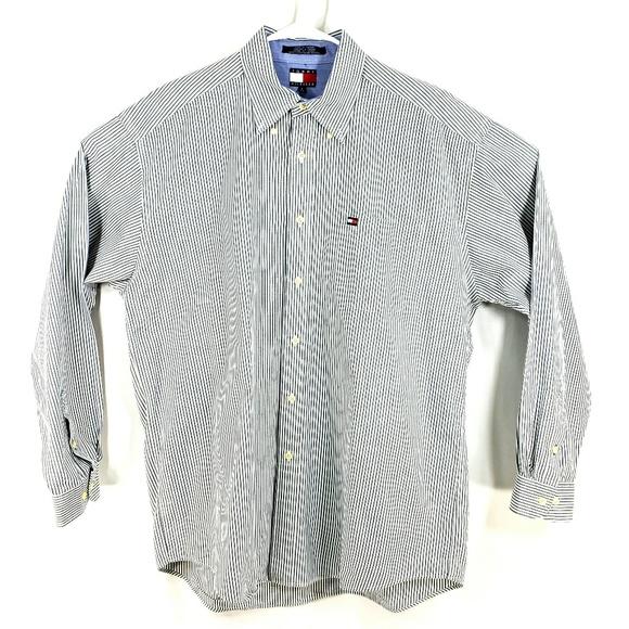 010880cd Tommy Hilfiger Shirts | Mens Vtg Llong Sleeve Dress Shirt | Poshmark